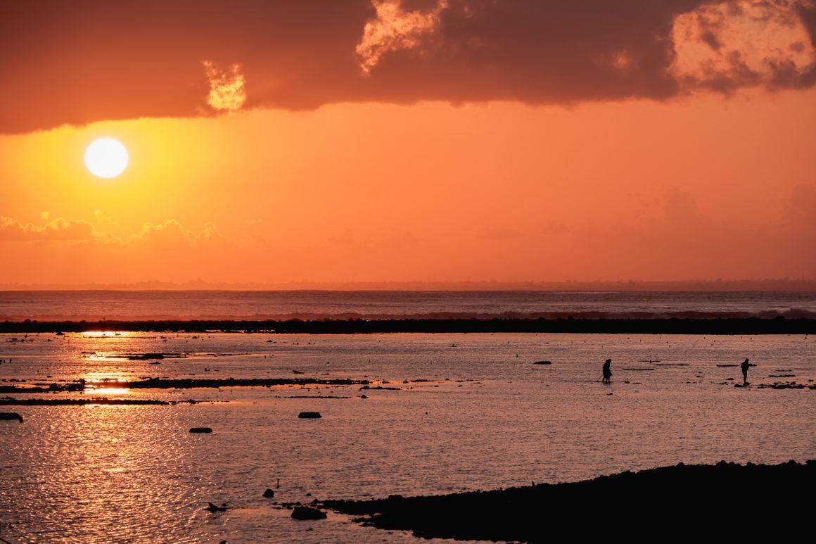 Les couchers de soleil de Bali font partie des plus beaux du monde