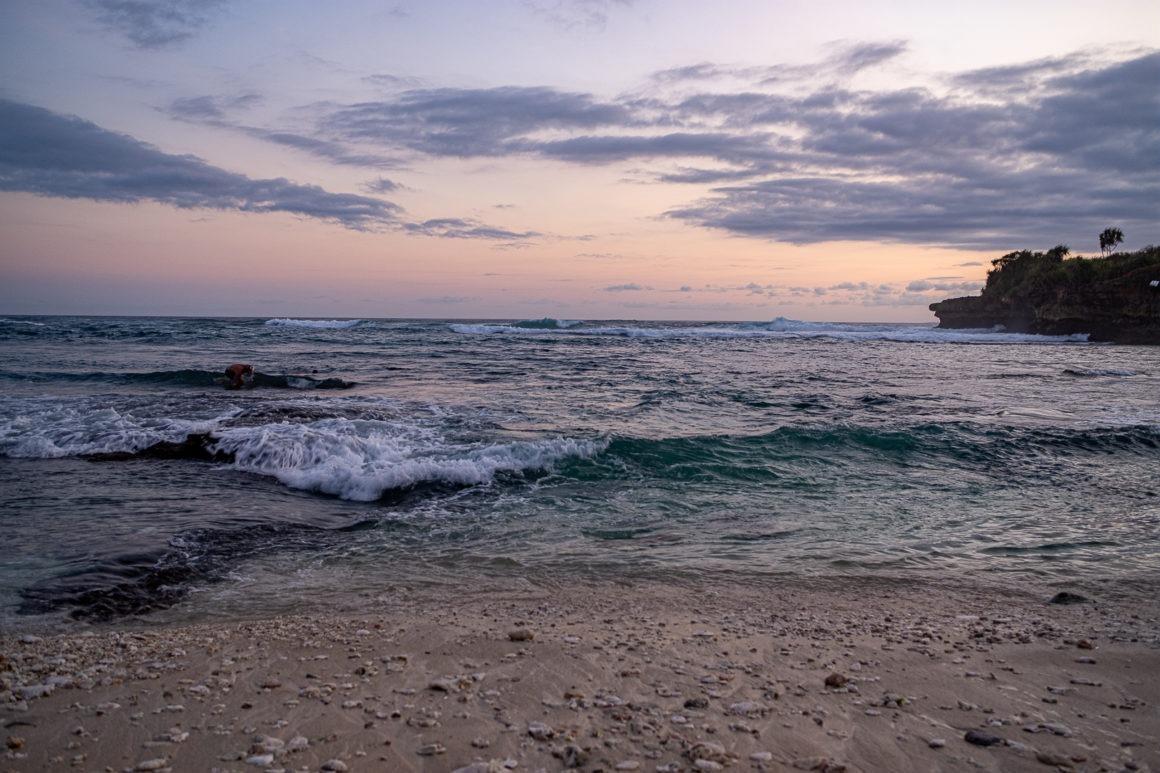 Au bord de la mer à Bali
