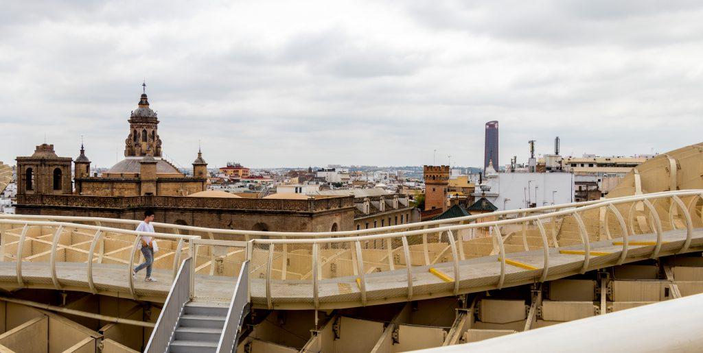 Las Setas ou le Metropol Parasol de Séville