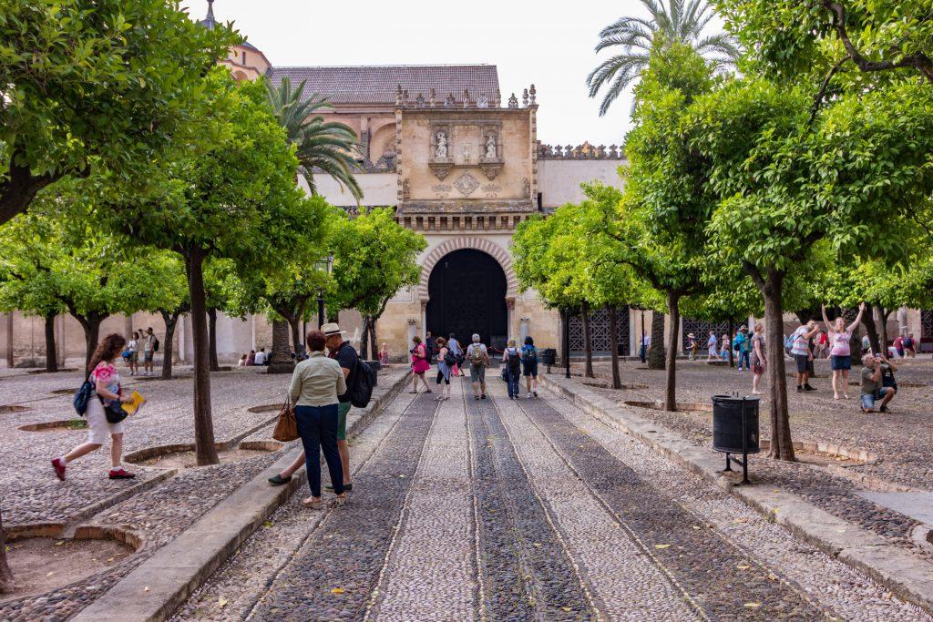 Le Patio de la Mezquita de Cordoba