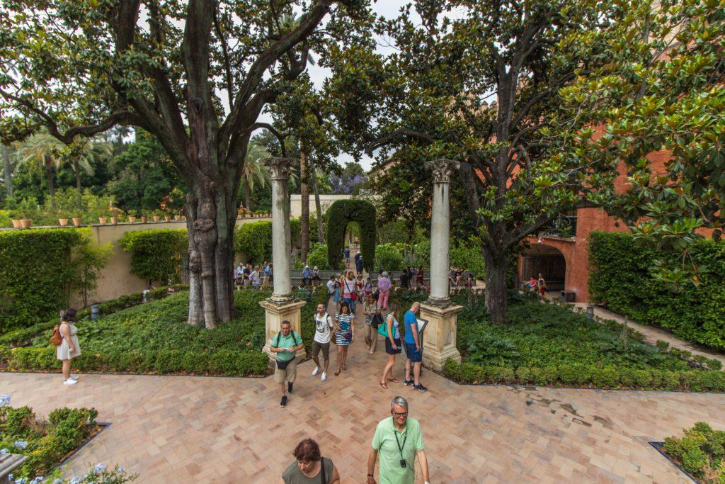 Jardin de l'Alcazar, Séville