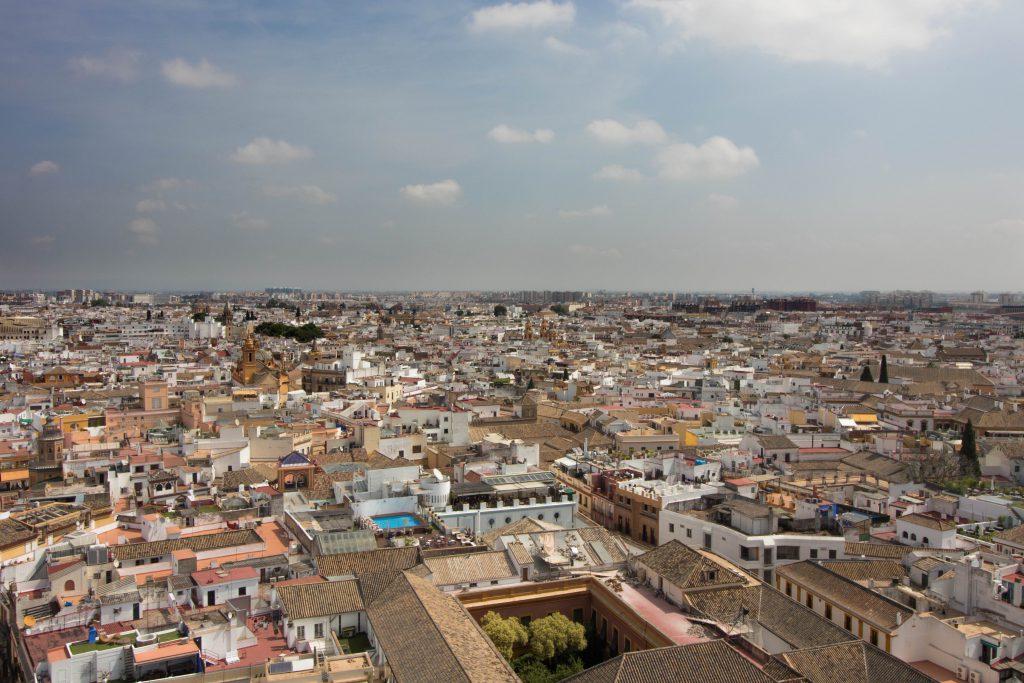 Vue sur Séville depuis la Giralda