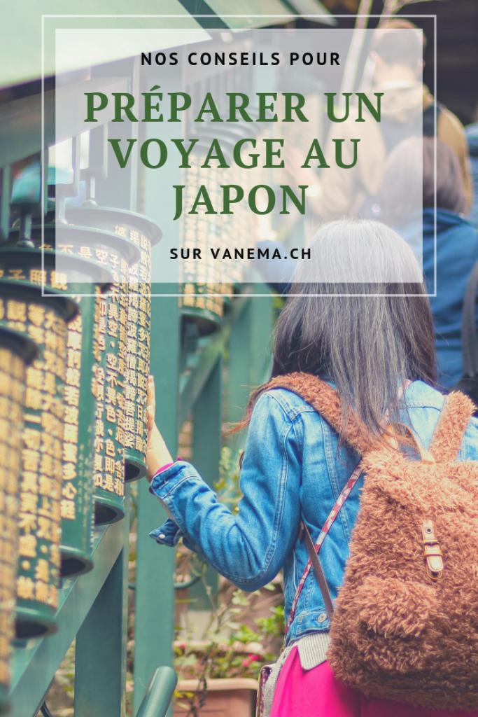 Conseils pour préparer un voyage au Japon