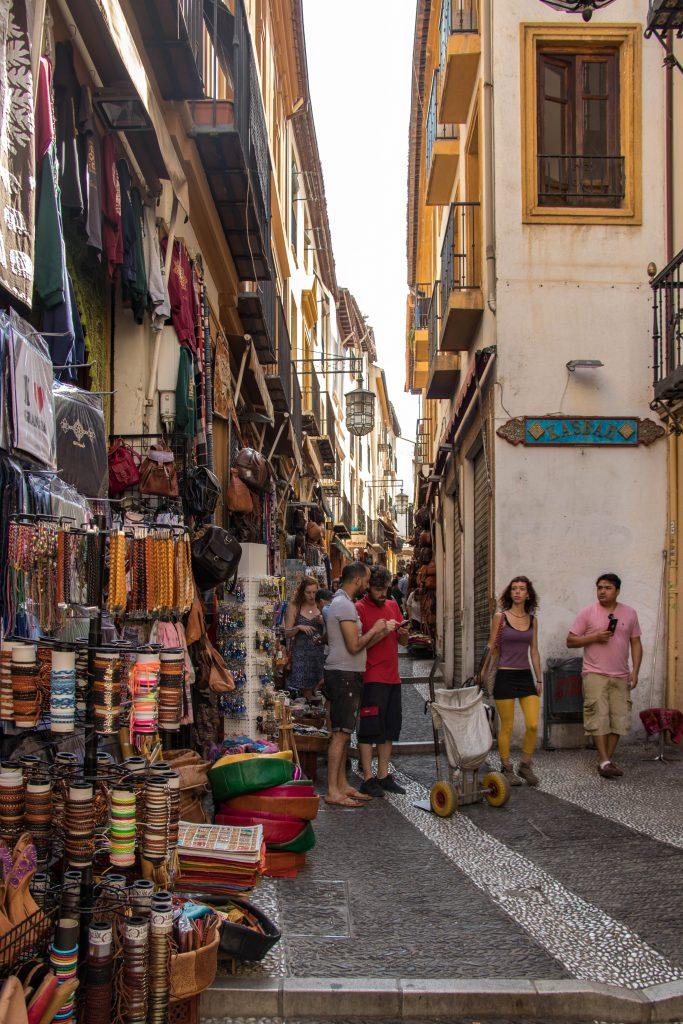 Les rues de Grenade
