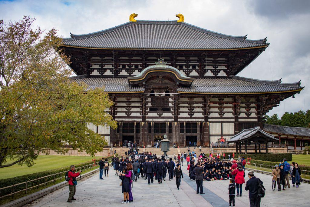 Le temple Todai-ji à Nara