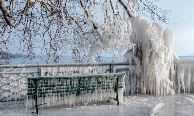 Genève sous un froid polaire