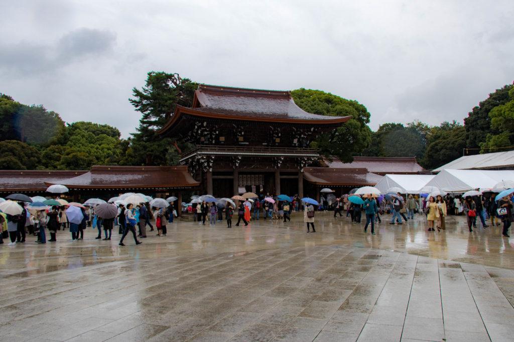 Temple de Meiji Jingu à Tokyo
