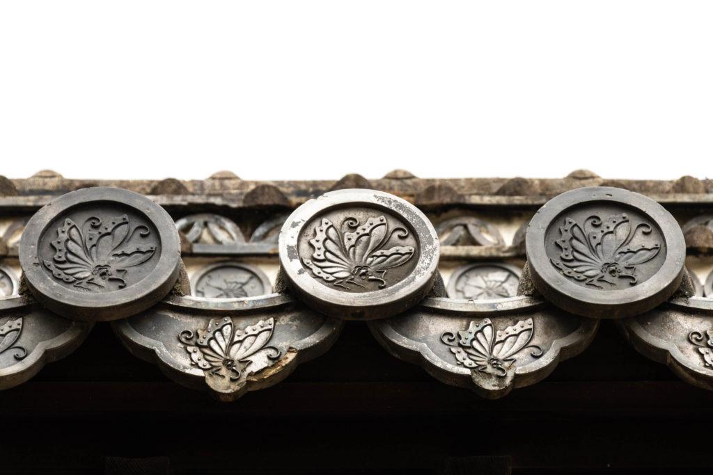 Détails du château d'Himeji