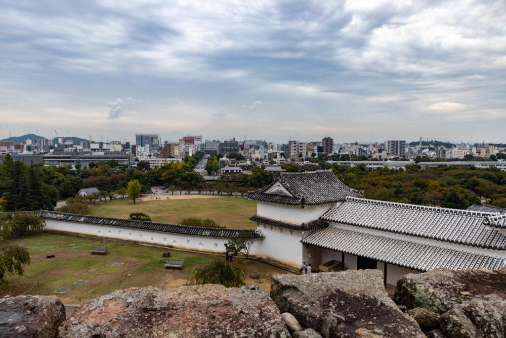 Vue depuis le château d'Himeji Japon