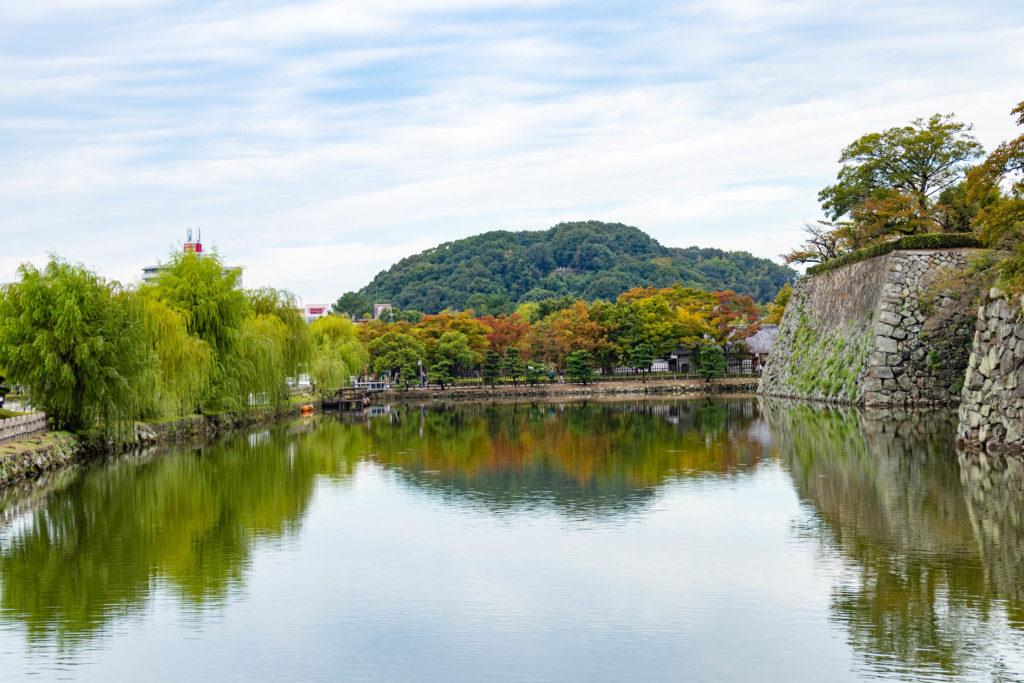 Vers le château Himeji Japon