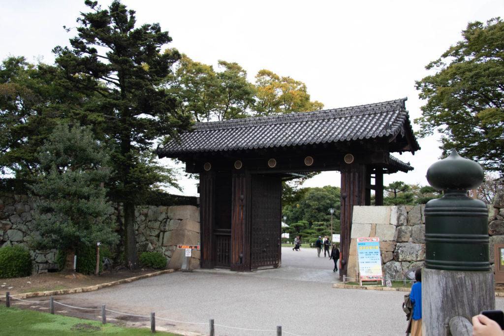 Entrée du château Himeji