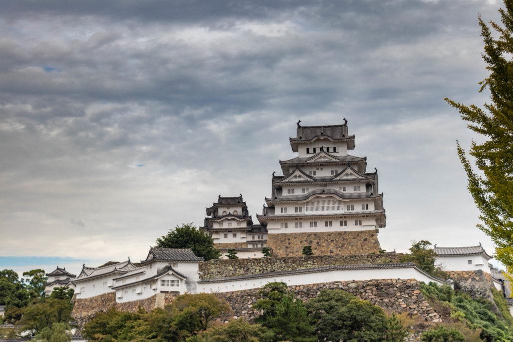 Le château d'Himeji au Japon