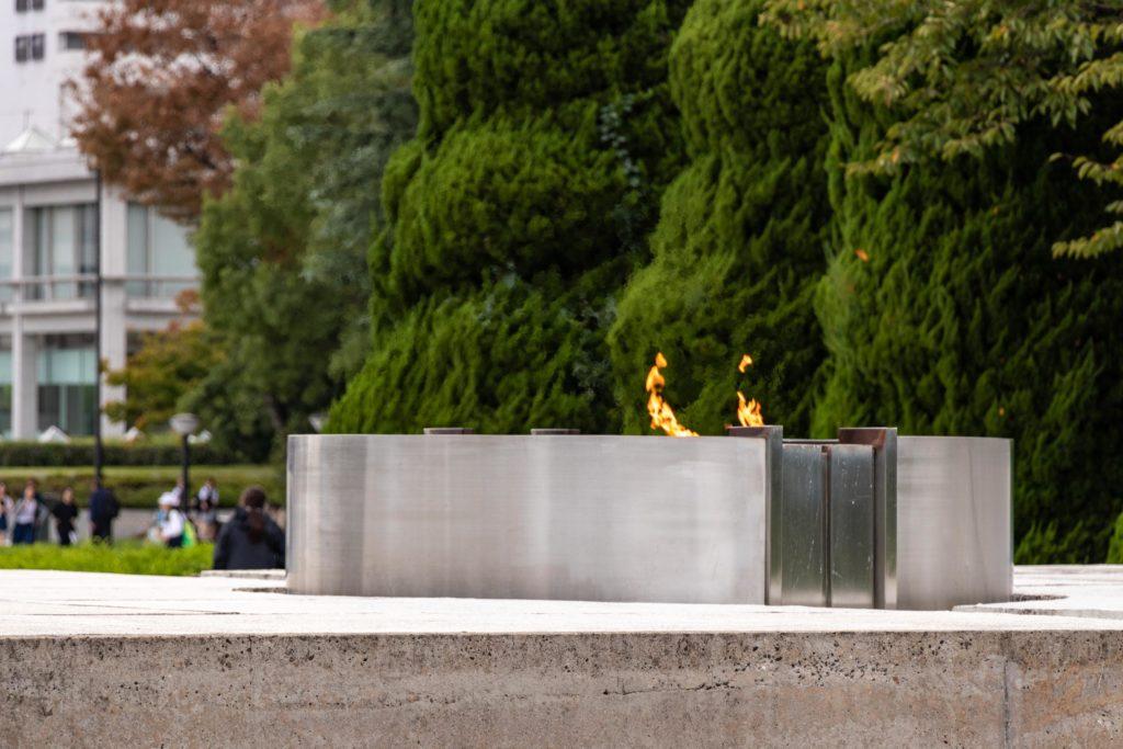 flamme de la paix Hiroshima