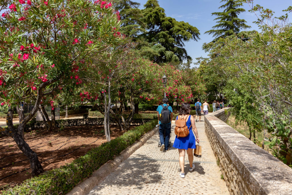 Promenade de Blas Infante à Ronda
