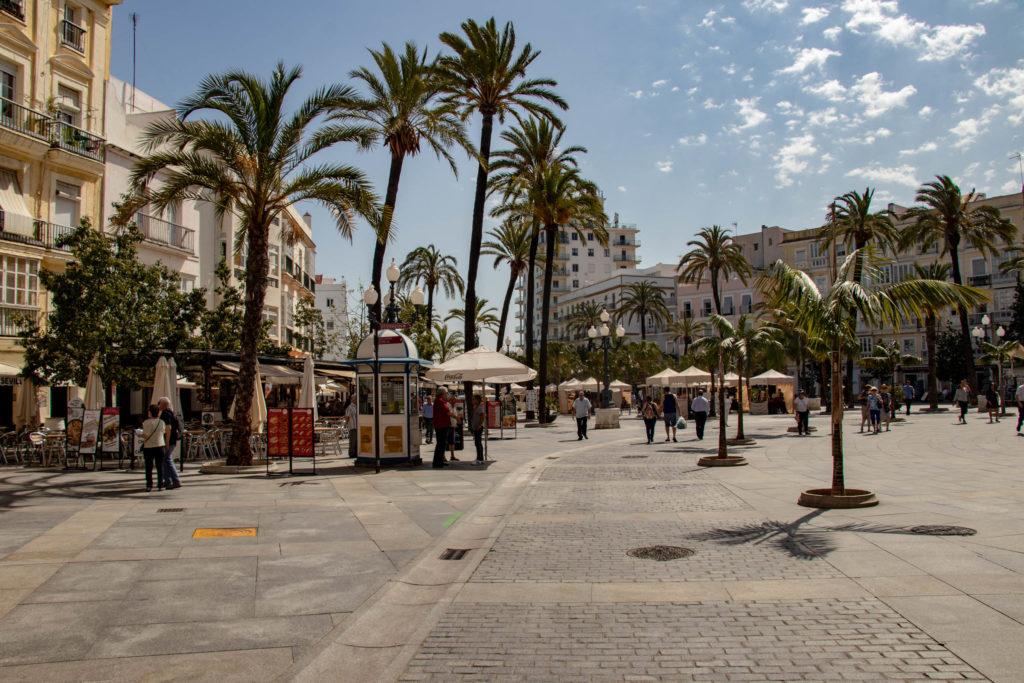 Plaza del Ayuntamiento à Cadiz