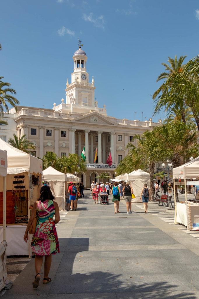 Plaza del Ayuntamiento et l'hotel de ville