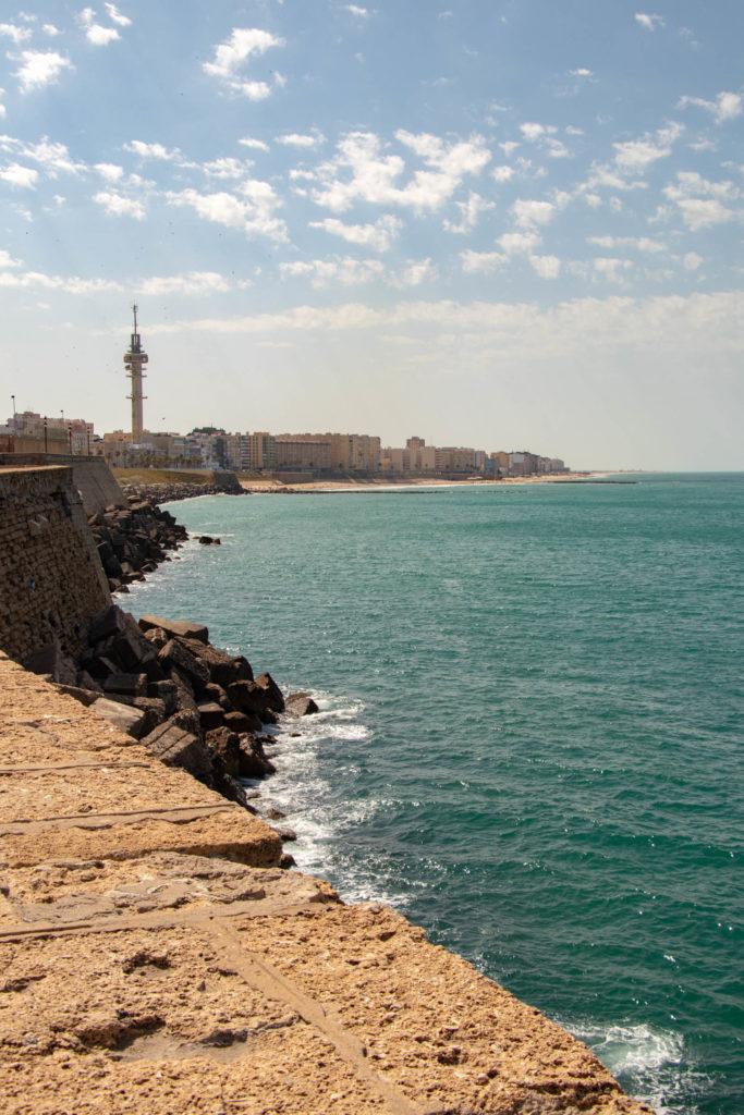 Bord de mer à Cadiz