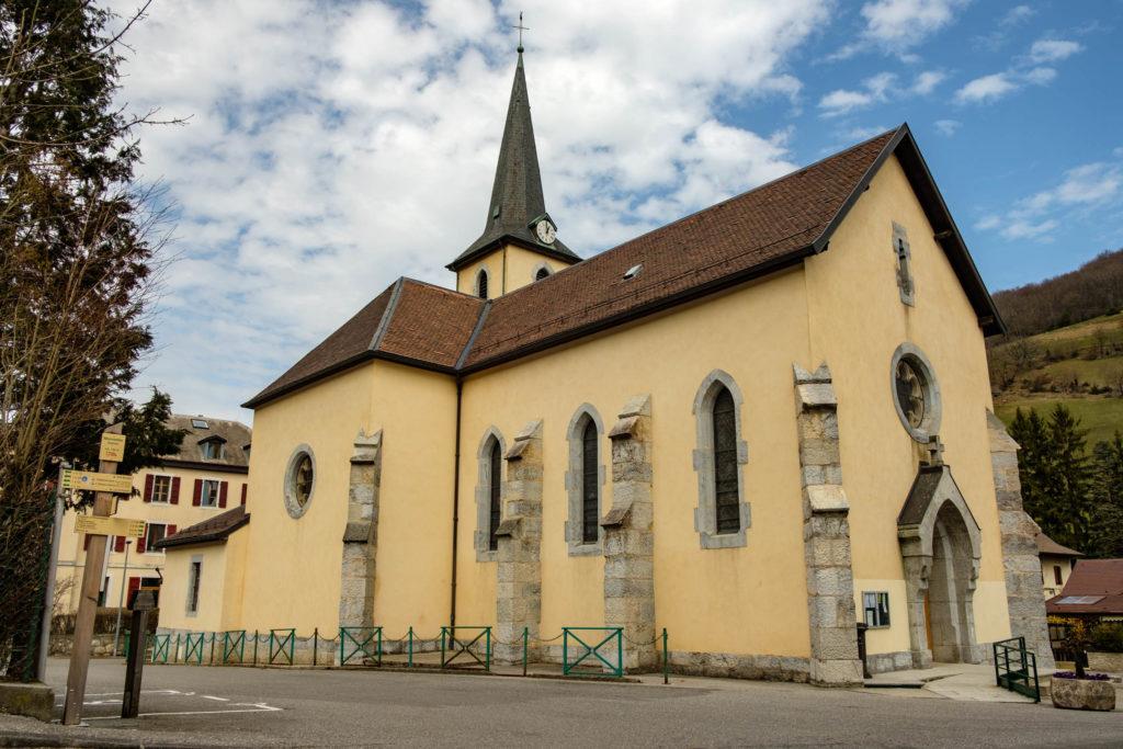 Eglise à Monnetier