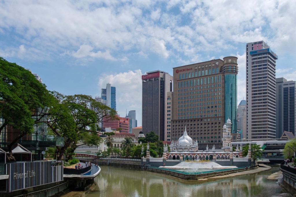 Vue urbaine a Kuala Lumpur