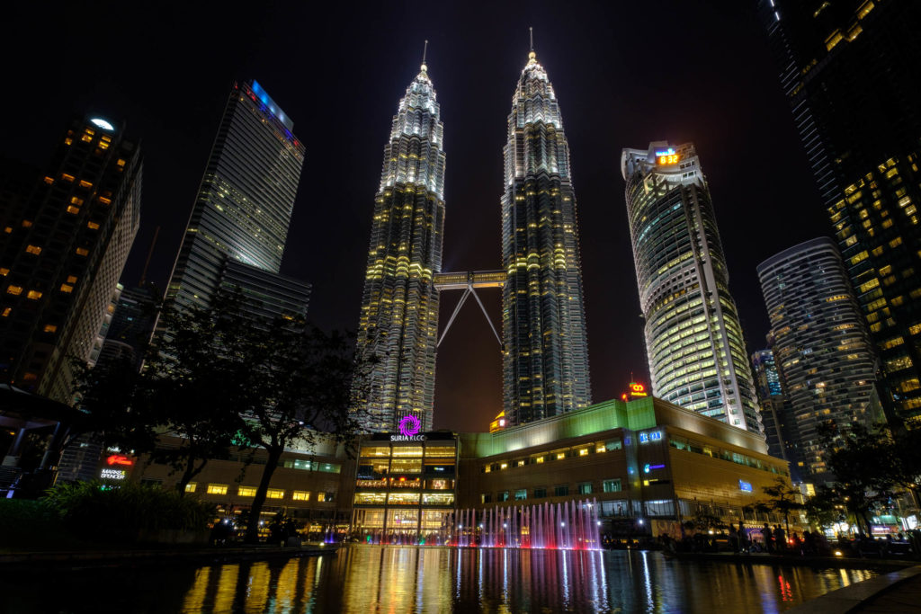 Petronas Tower night time