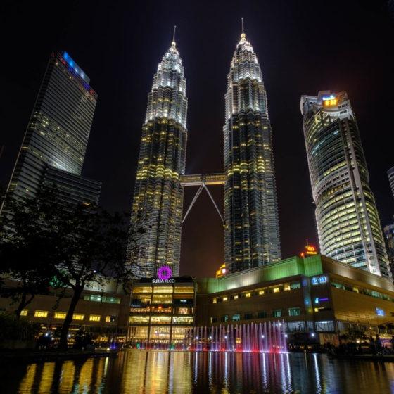 Petronas Tower night time