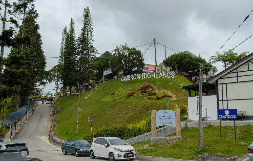 Ville de Tanah Rata aux Cameron Highlands - Vanema