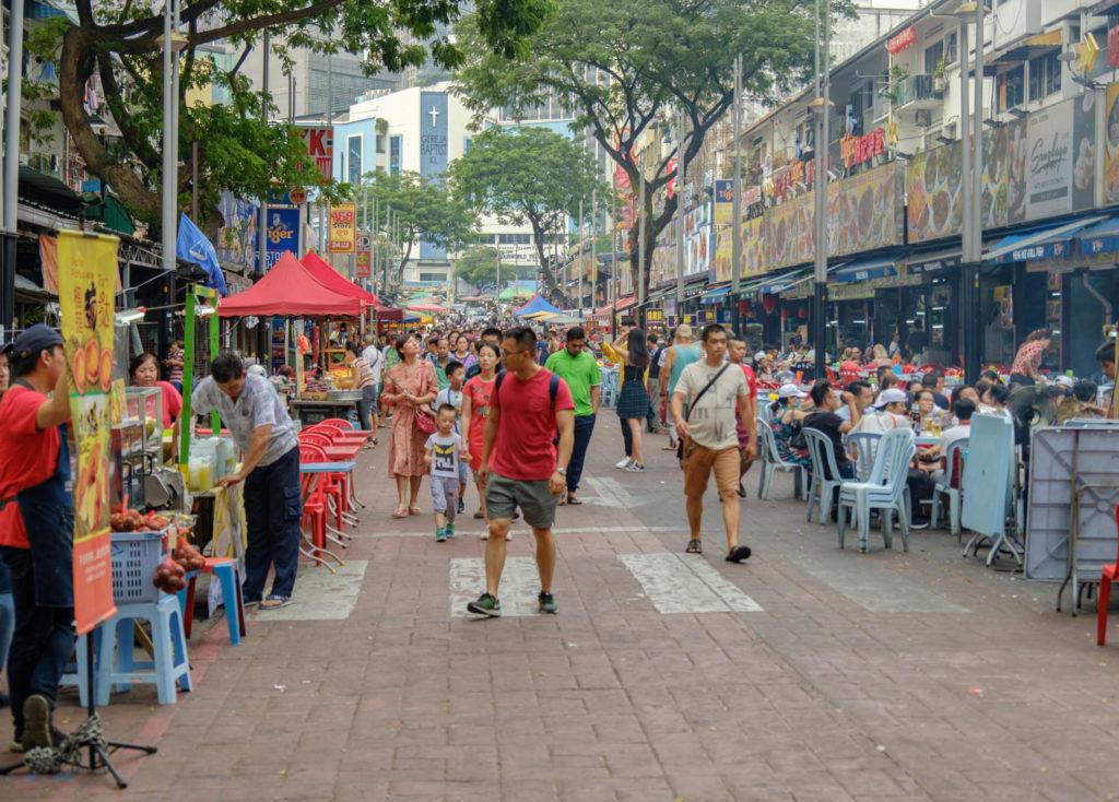 Jalan Alor Street Food