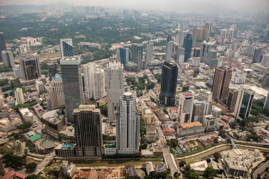 Kuala Lumpur vue de la Tour Menara