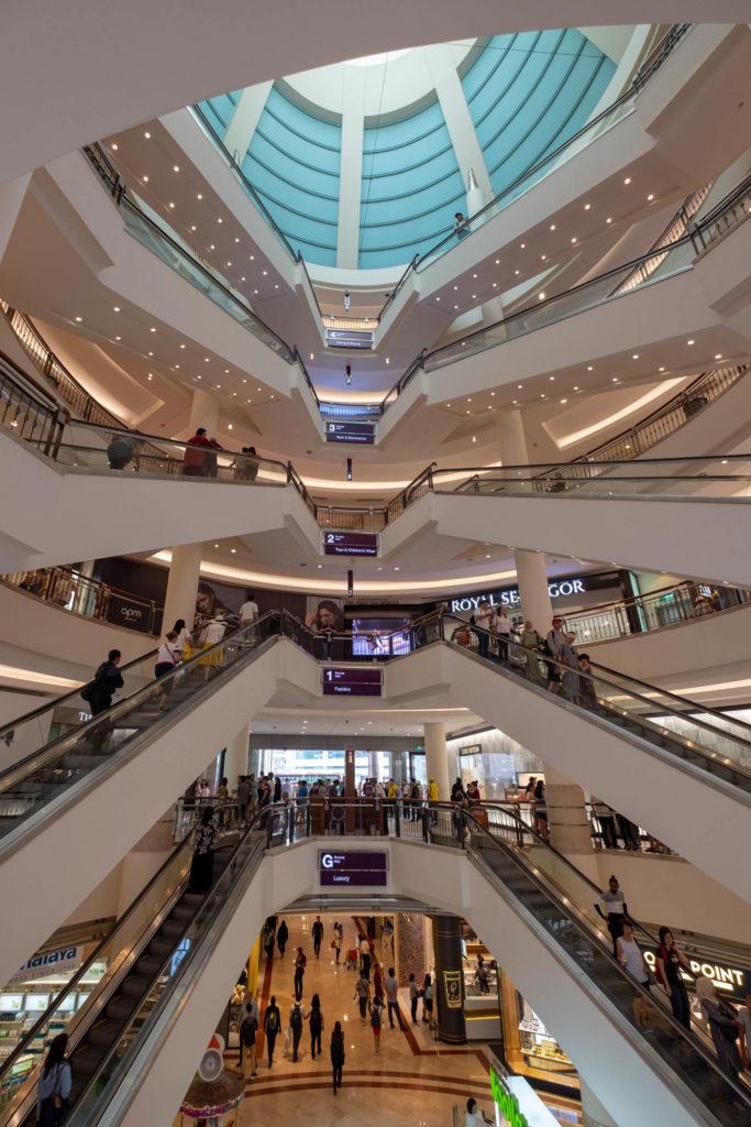 Le suria mall à Kuala Lumpur