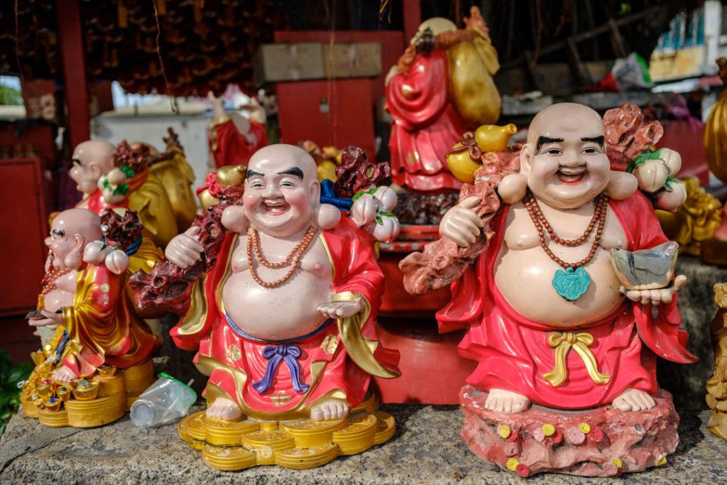 Statues au Kuan Yin Teng Temple