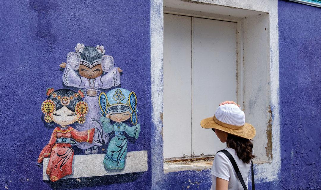Visite de George Town en Malaisie