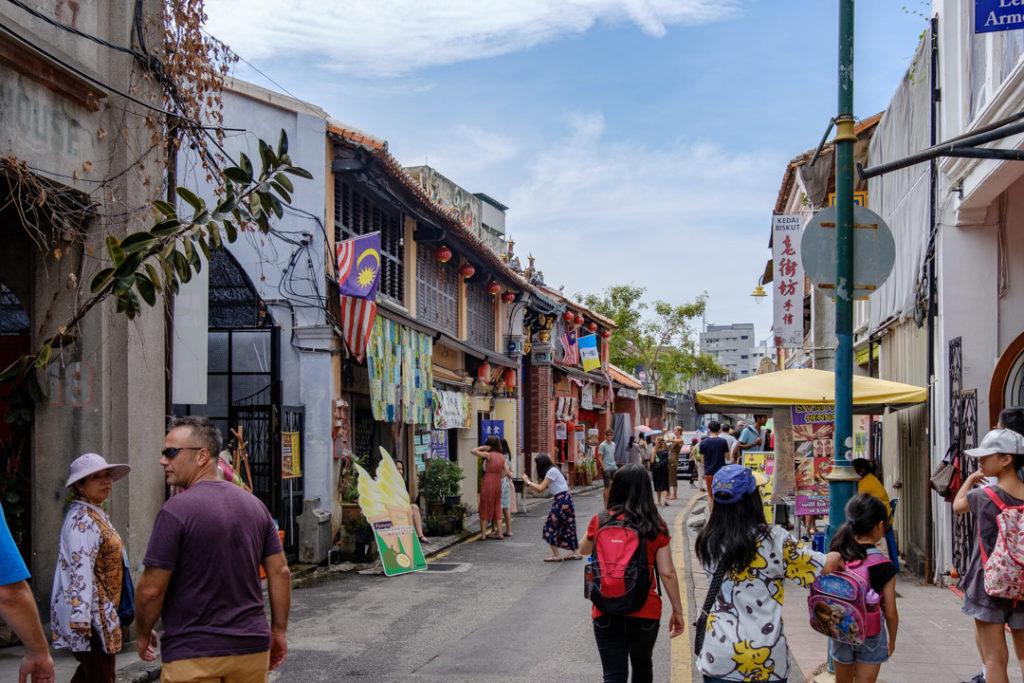 Armenian Street à George Town