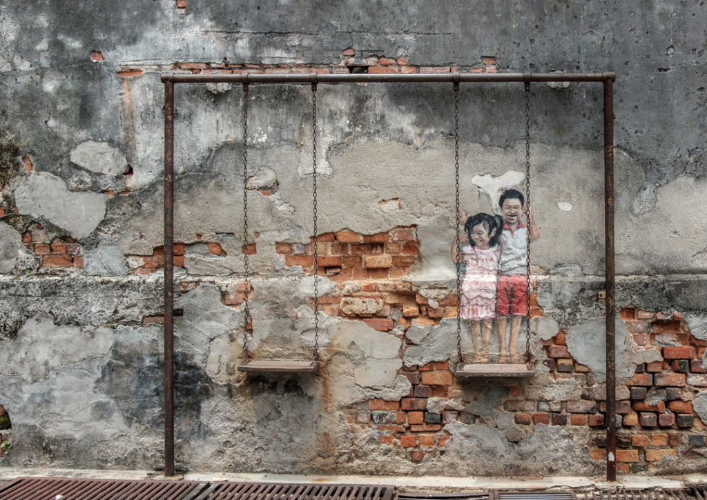 Street Art by Louis Gan, George Town