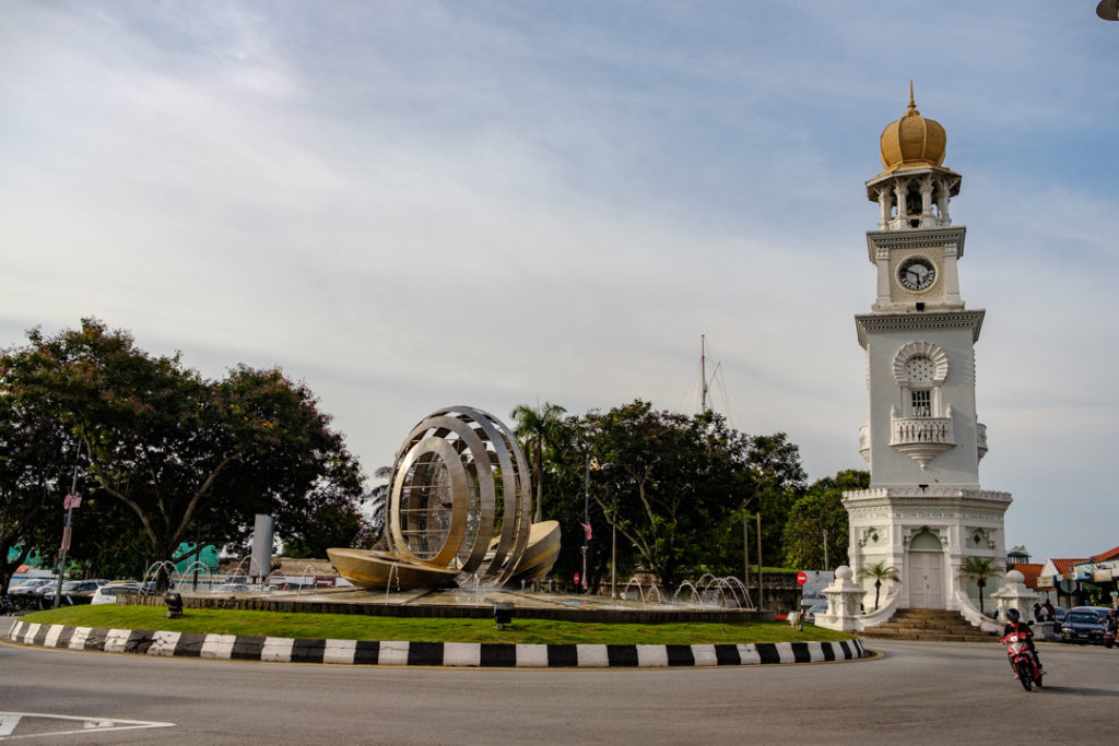 Tour de l'Horloge de la Reine Victoria à George Town