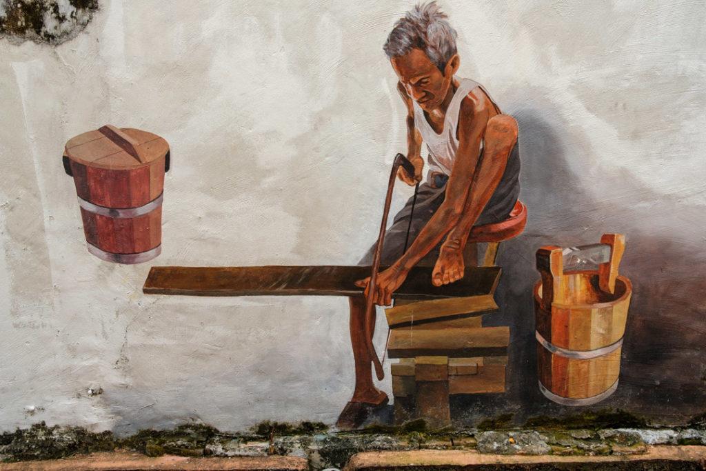 Fresque de street art