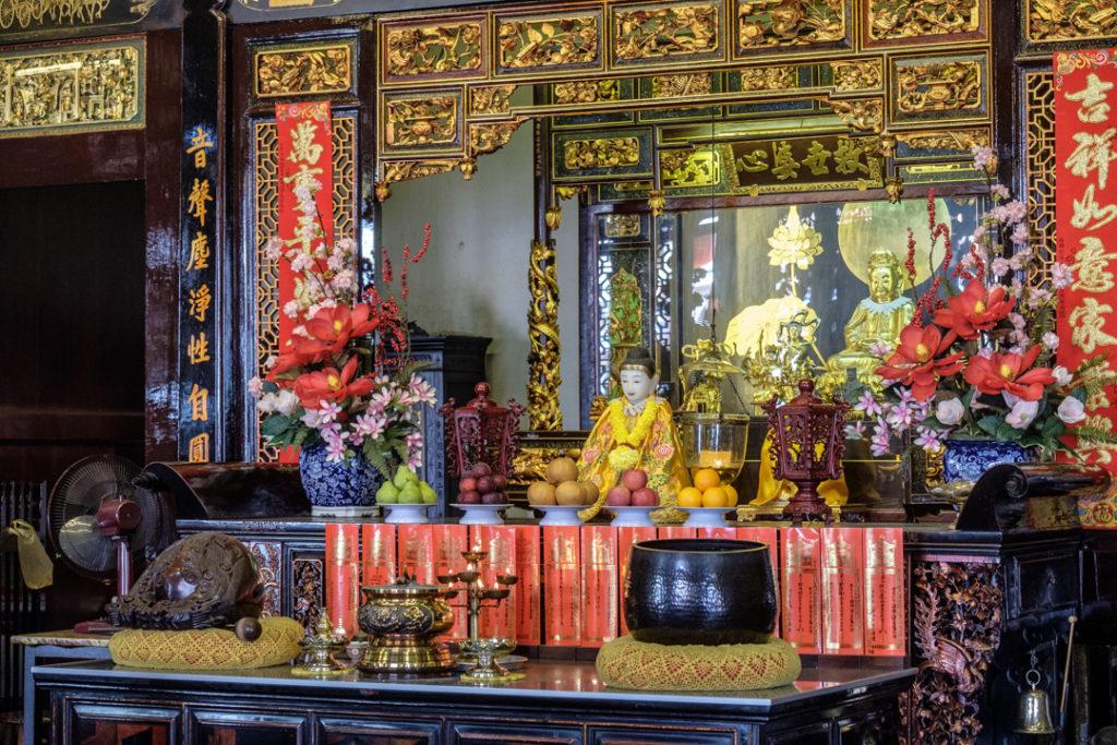 Autel du Cheng Hoong Teng temple