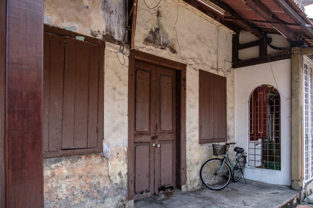Façade d'une vieille maison