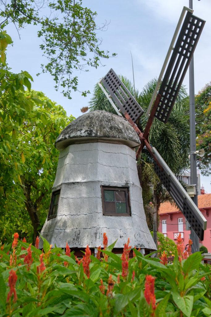 Réplique d'un moulin à Malacca