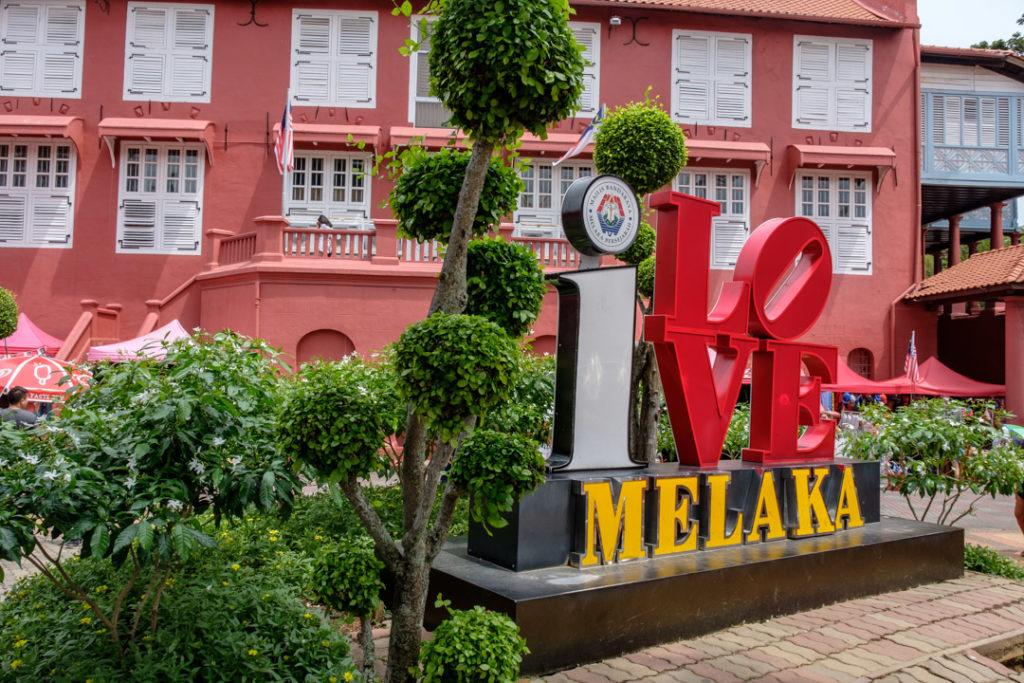 I love Melaka