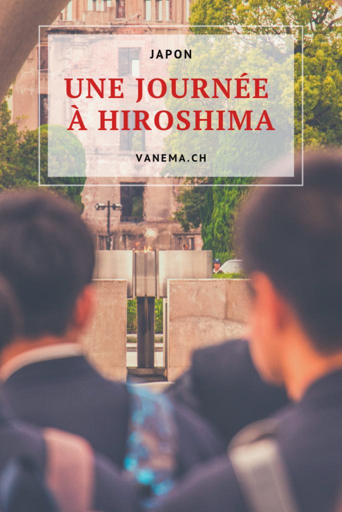 Image pinterest de la visite d'Hiroshima
