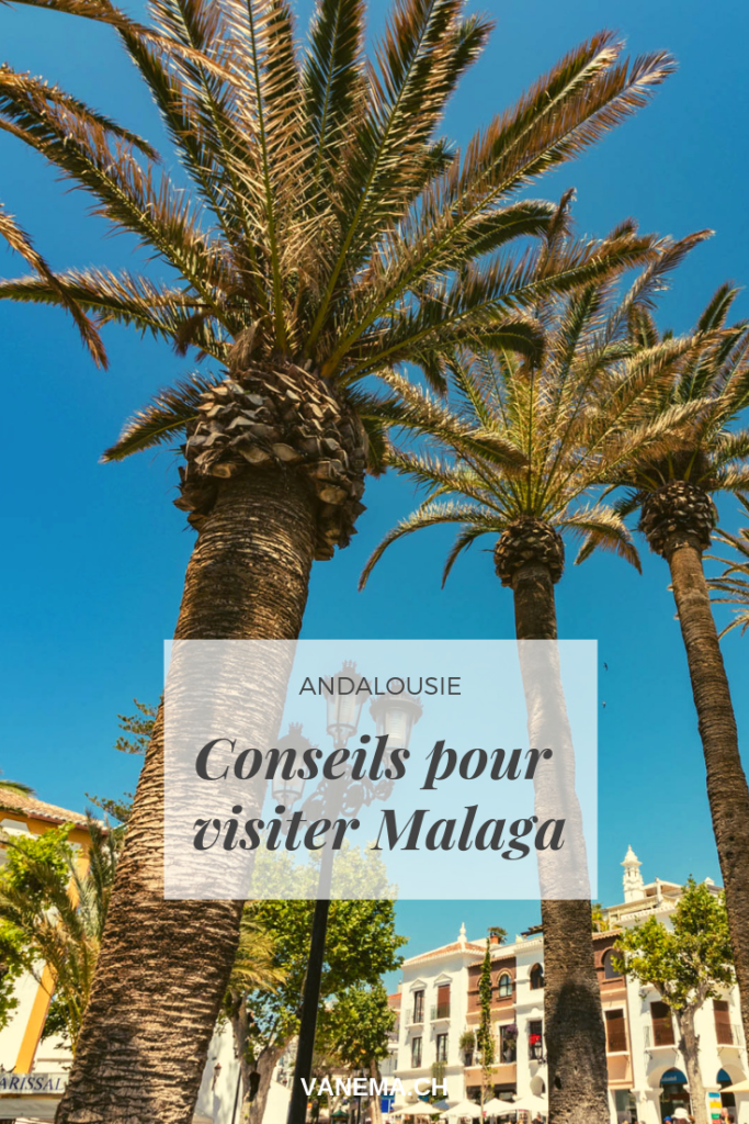 image pinterest pour visiter Malaga