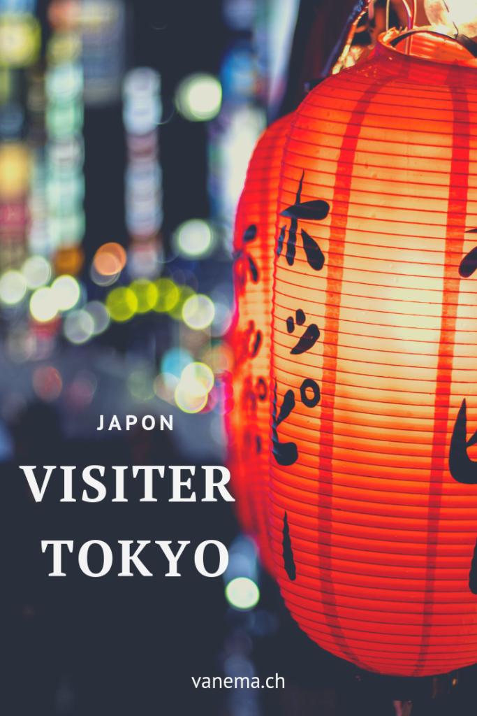 Image pinterest de la visite de Tokyo
