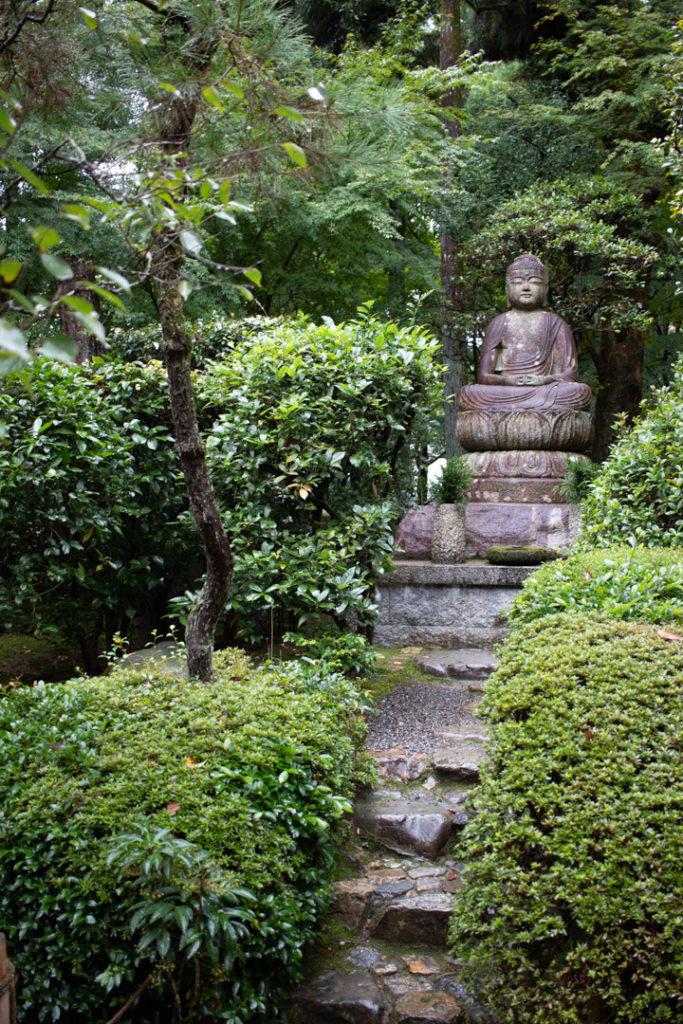 Statue au TempleRiôan-ji