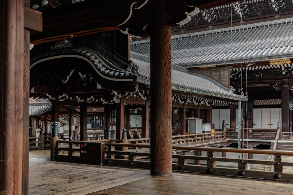 Le temple Higashi Hongan-ji