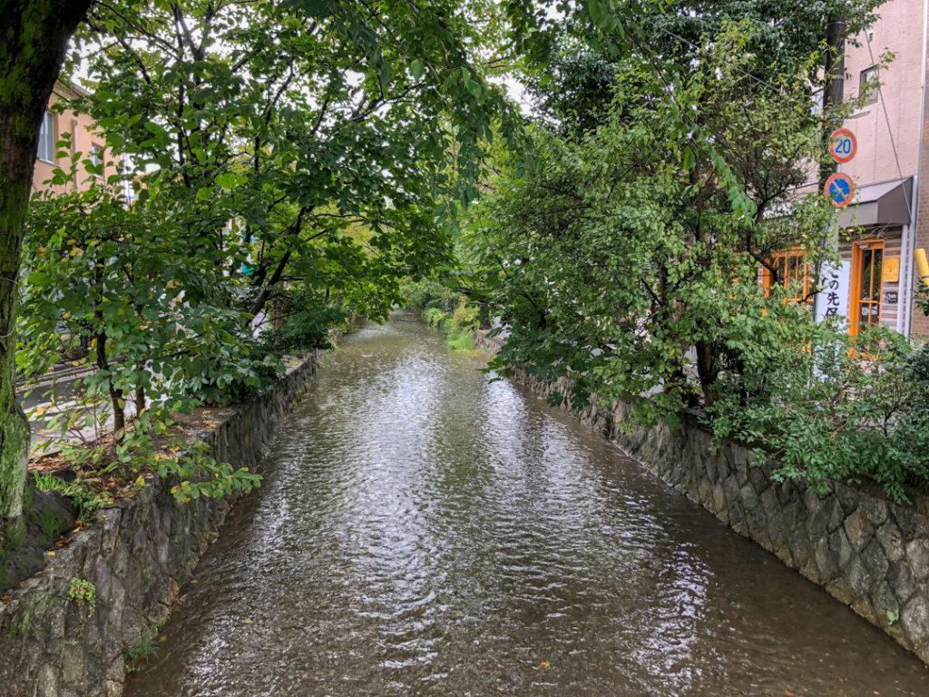 Vue près de l'Hôtel de Kyoto