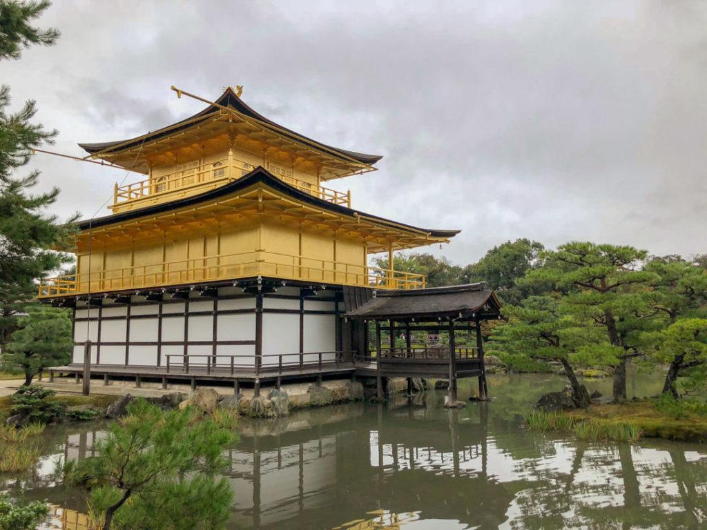 Le Kinkaku-ji de Kyoto
