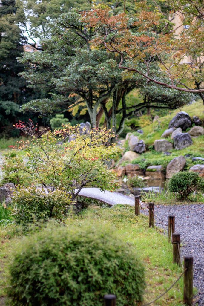 Le Jardin Shosei-en de Kyoto.