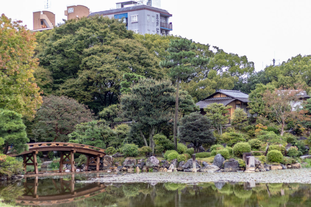 Le Jardin Shosei-en à Kyoto.