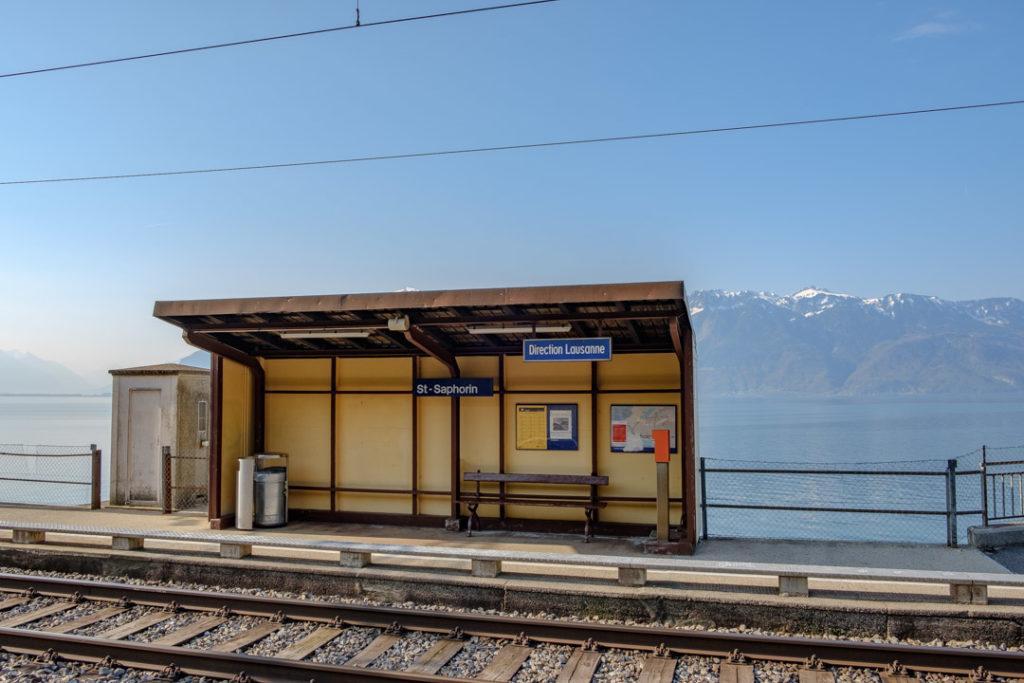 Gare St-Saphorin Lavaux