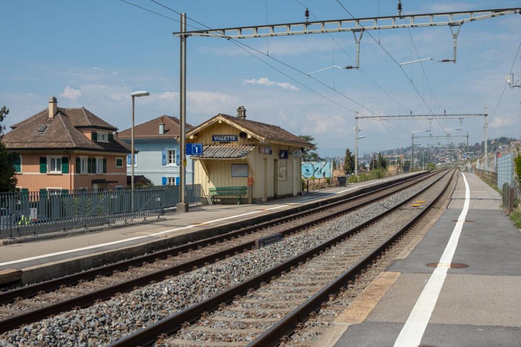 Gare de Villette, Lavaux